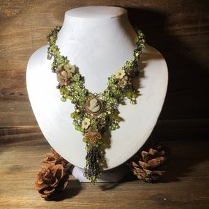 Jewelry - Victorian / Shabby Chic / Boho Statement Necklace
